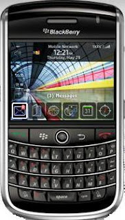 Blackberry Tour Smartphone India