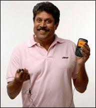 Olive Mobiles India Ambassador Kapil Dev