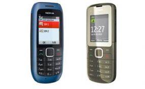 Nokia Dual SIM Mobiles India Nokia C1 & Nokia C2