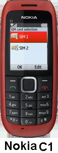 Nokia C1 India