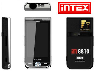 Intex V.SHOW Projector Mobile Phone