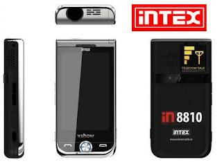Intex V.SHOW Projector Mobile Phone