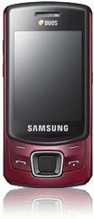 Samsung C6112 Dual SIM Slider Mobile
