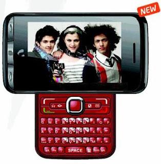 Videocon V1688 Swivel QWERTY Phone