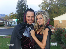 This is our Halloween costumes this year! Brandon had a work Halloween party we had a blast!