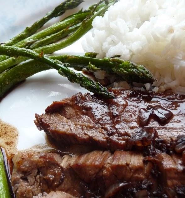 Christine's Cuisine: Balsamic Teriyaki Flank steak