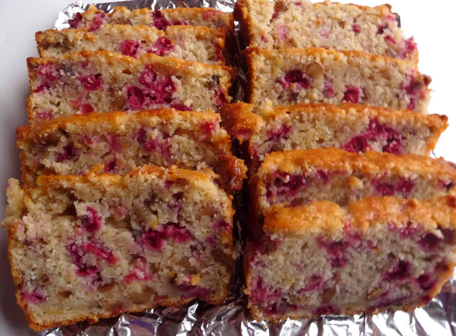 Christine's Cuisine: Cranberry Orange Nut Bread