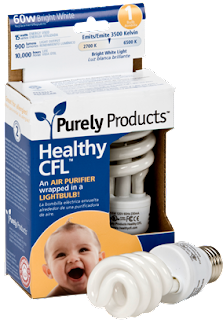 healthy cfl purifying cfl lightbulb