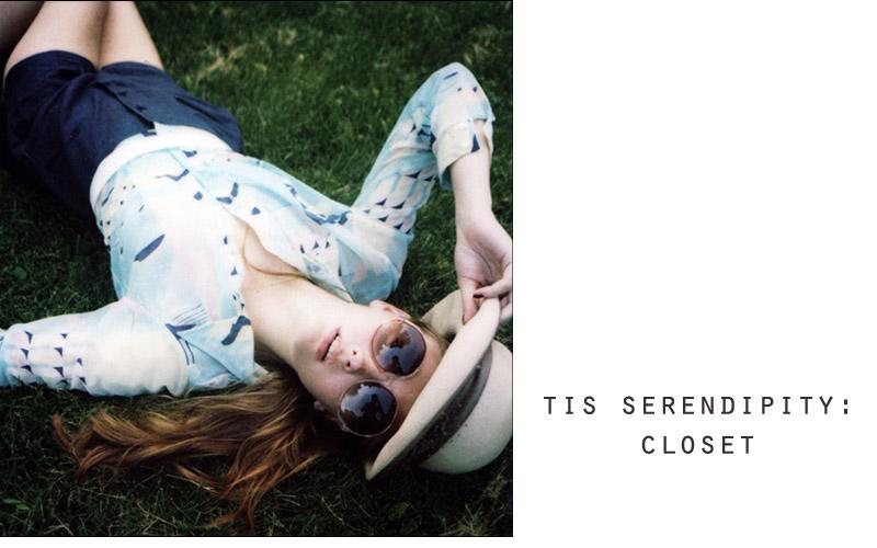 tis serendipity: closet