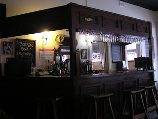 Greenock Hotel dining room bar