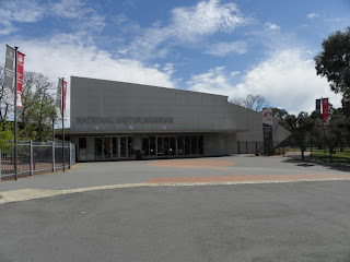The Motor Museum entrance