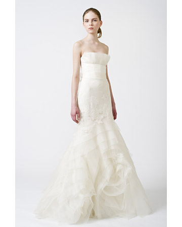 vera wang wedding dress. Vera Wang Bridal Gowns