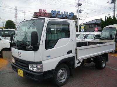 Mazda CNG-Powered Titan Dash