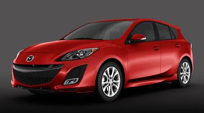 exterior design of Mazda3