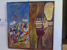 The Peace Deal. Artist -Khumbulani Mpofu. Text - C. Mlalazi
