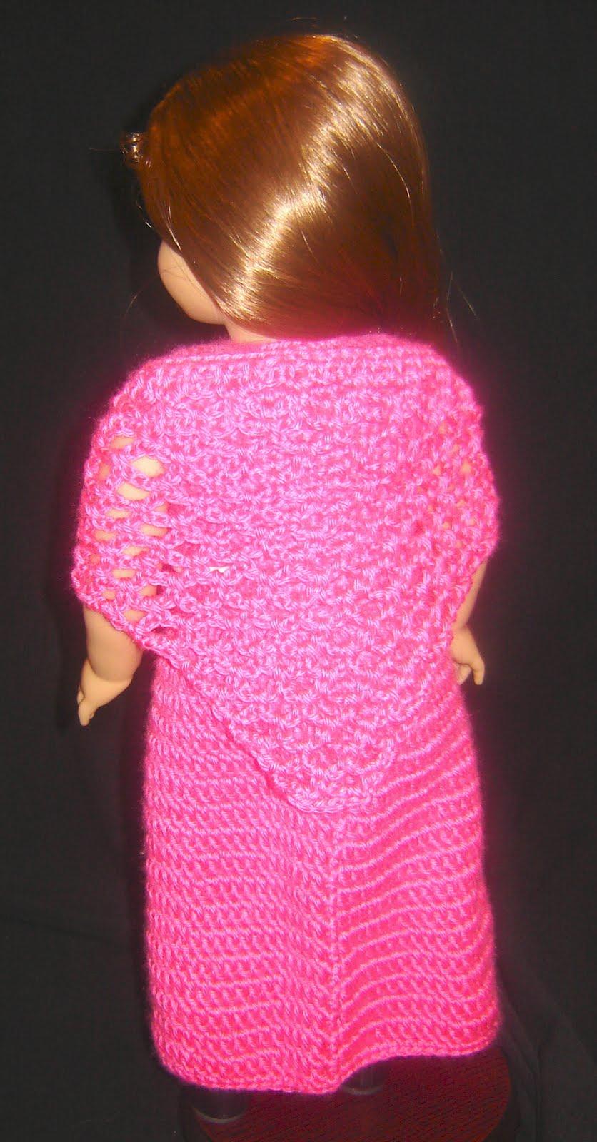 Bizzy Crochet: Evening Dress w/ Shawl Pattern- 18