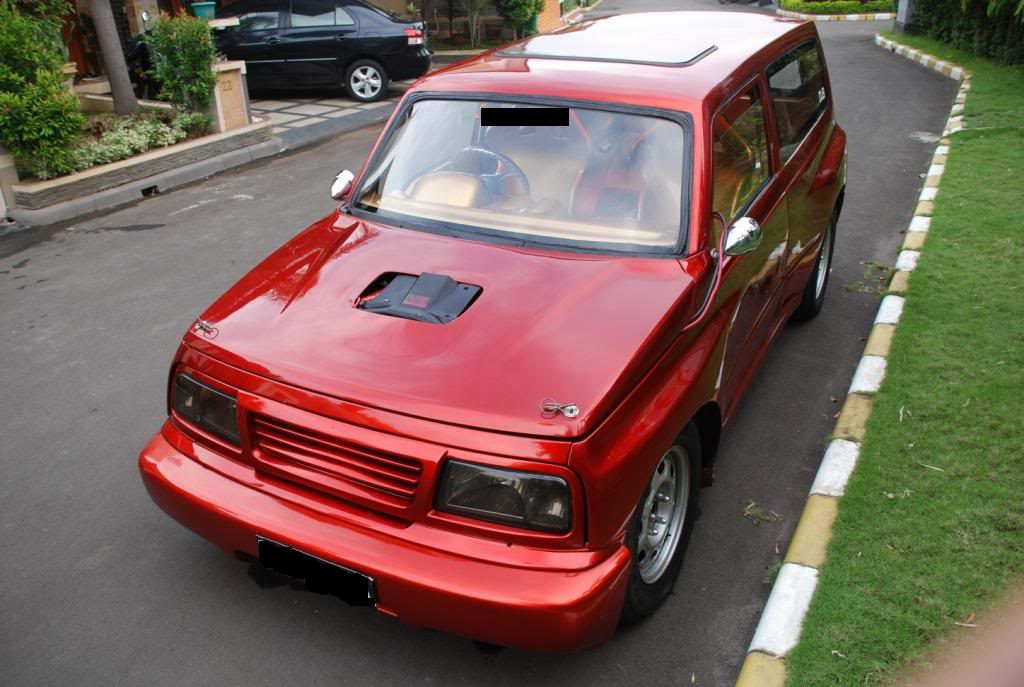 Picture Suzuki Escudo Modifikasi