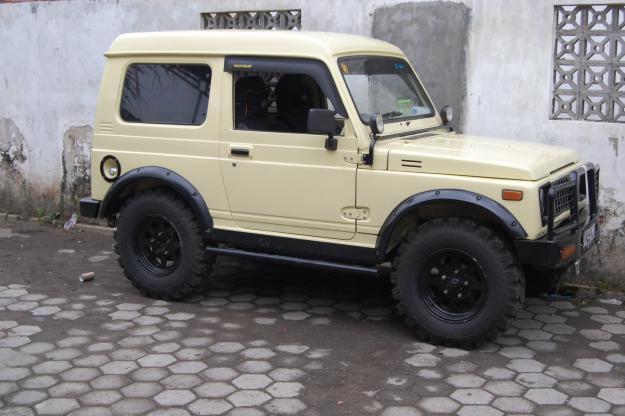 new car modification  Katana And Jimny Jangkrik Modification