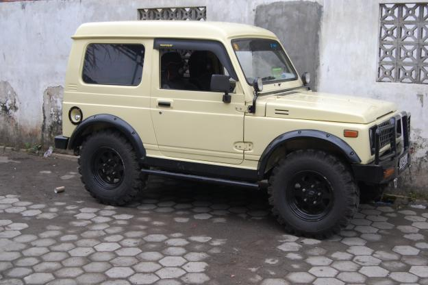 new car modification  Katana And Jimny Jangkrik Modification