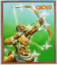 Orisha Art: OXOSSI<br> A Nubian Knight
