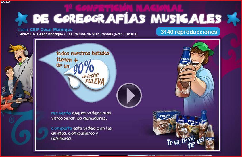 Pulsa sobre la imagen para ver el video del CEIP Cesar Manrique