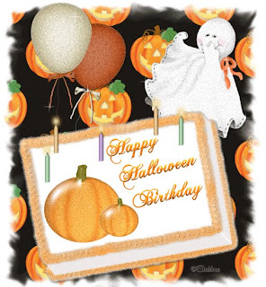 Happy Halloween Birthday Cards