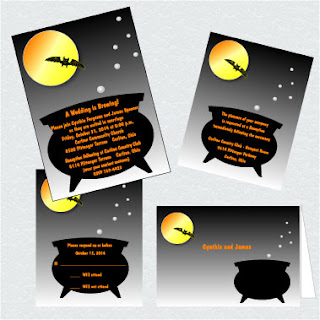 business card template for halloween