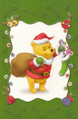 winnie the pooh christmas wishes pooh christmas cards