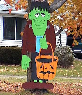 Frankenstein halloween wishes