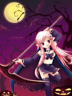 anime happy halloween wishes