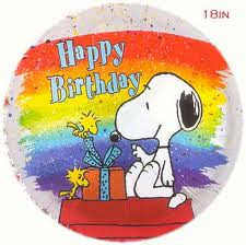 birthday wishes by snoopy