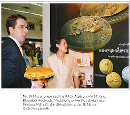 يوم الغذاء العالمي الذي تقيمه منظمة فاو في بانكوك يظهر في الصورة السيد جي ار ماير  المدير التنفيذي
