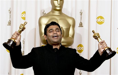 A R Rahman-First Indian Oscar Winner
