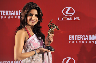 Priyanka Chopra at Asian Film Awards 2009