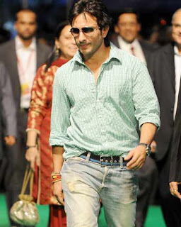 Saif Ali Khan searches a blonde girl in the streets