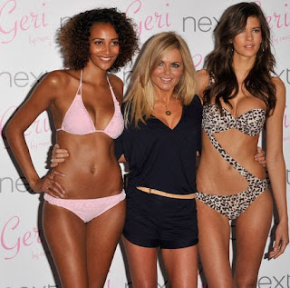 Geri Halliwell enjoys to design swimwear