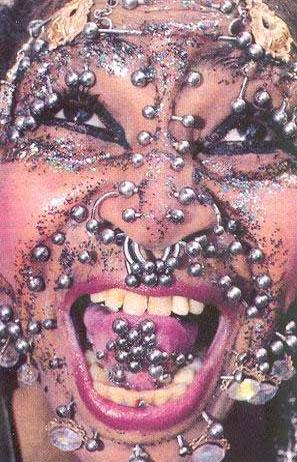 los piercings y los tatuajes. Piercing Cerebral - Lo mas extremo y estimulante - Taringa!