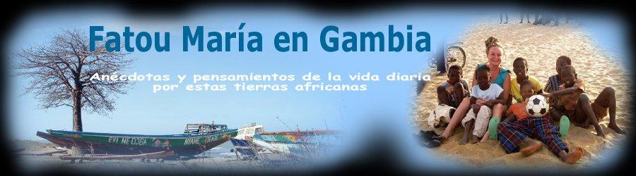Fatou María en Gambia
