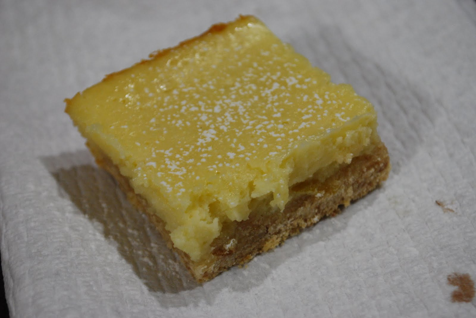 """Point-less"" Meals: Lemon Cheesecake Squares"