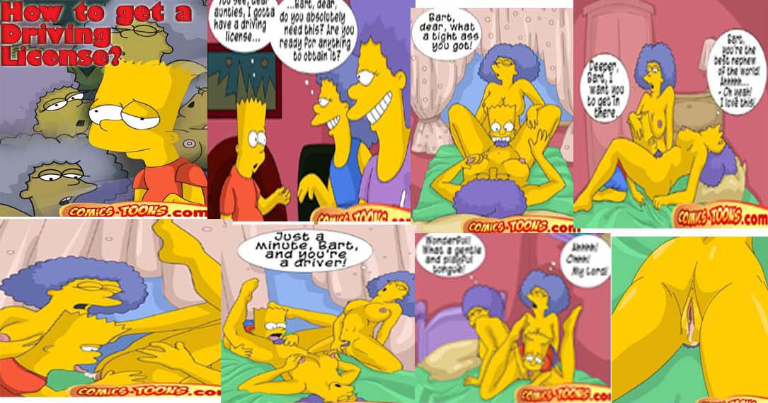 Patty and selma naked