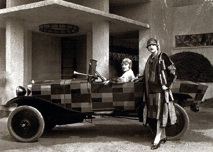 inventing abstraction at the museum of modern art sonia delaunay terk and a companion wearing. Black Bedroom Furniture Sets. Home Design Ideas