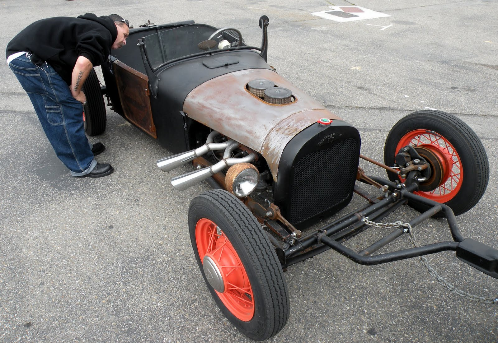Just A Car Guy: The conrod - hot rod. More uses for used up conrods ...