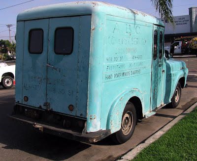chenoweth ford lincoln mercury. Late 50#39;s Ford quot;bread truckquot;,