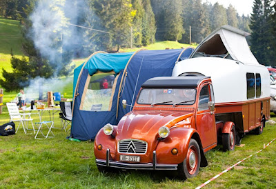 Just a car guy cool new stuff on super 2cv in the past for Garage citroen nation