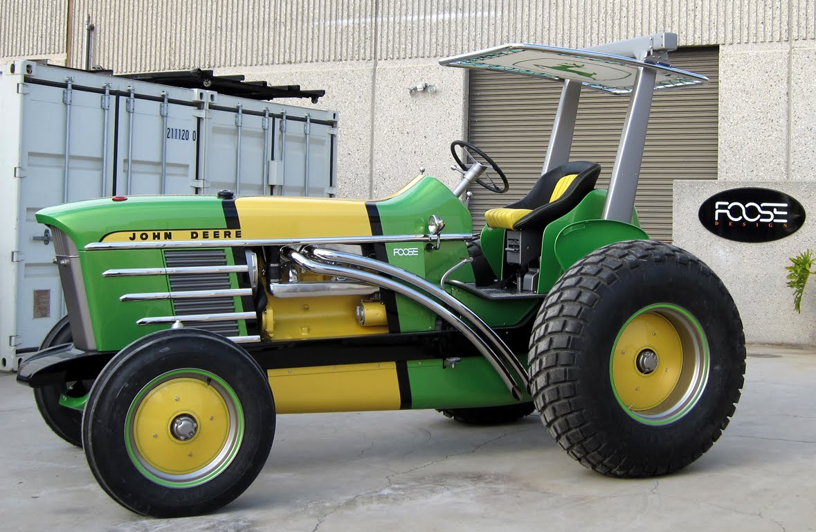 John Deere Tractor Cars : Just a car guy the john deere model that chip