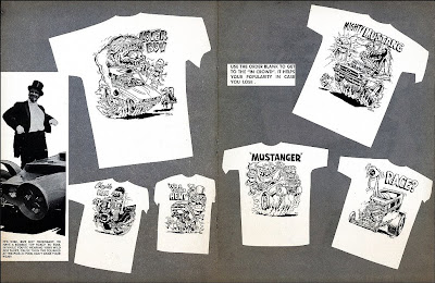 Just a car guy: the 1965 Roth studios Rat Fink and Monster Shirt
