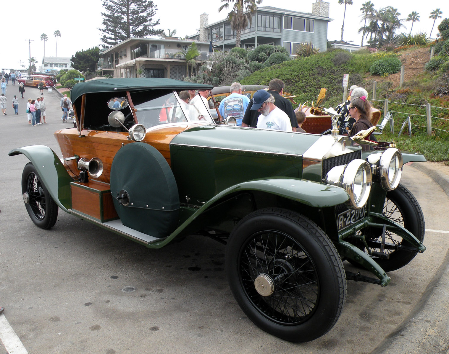 Just A Car Guy: 1914 boat tail Rolls Royce that ...