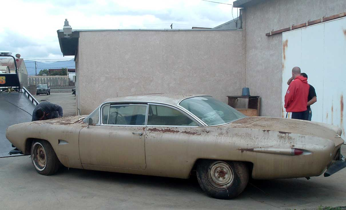 Car Reviews Loewy S Personal Design 59 Caddy Was Found