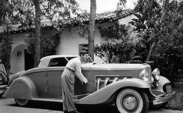old hollywood some stars and their cars pre 1940
