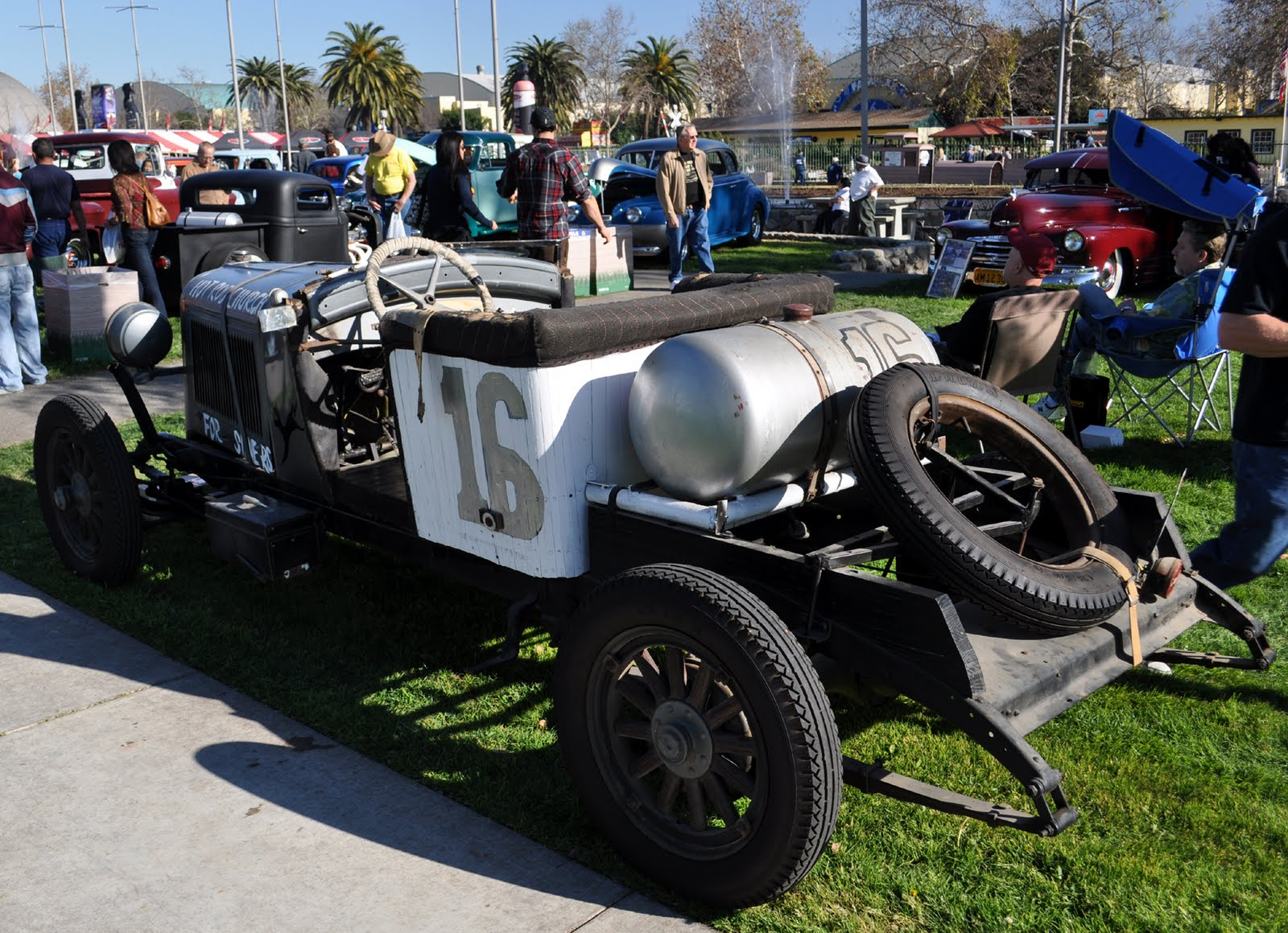 this Oakland Speedster was at